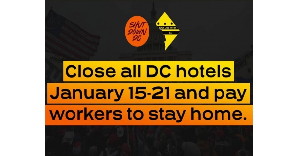 Black Lives Matter DC and ShutDownDC call for closure of all DC-area hotels between January 15-21 | NationalBlackGuide.com